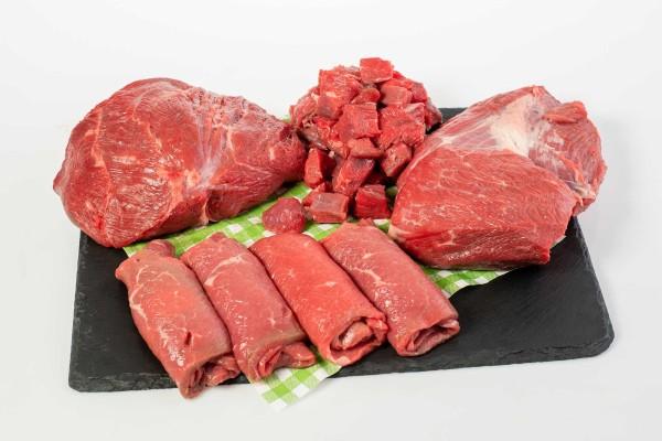 Fleischpaket vom Rind