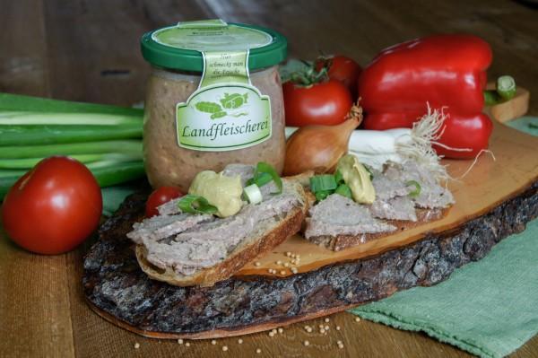 Bratwurst, hausschlachtener Art