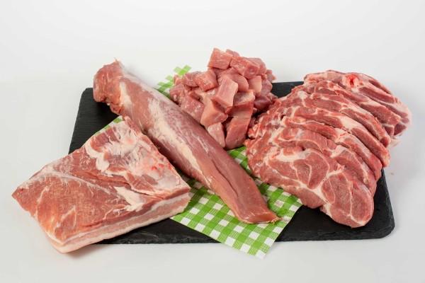 Fleischpaket vom Schwein