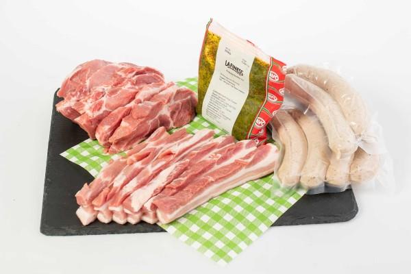 Grillpaket vom Schwein